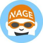 logo Guide Piscine / Coach Nage – Un outil pour les nageurs